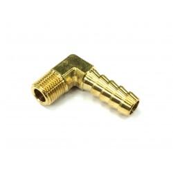 """Slangnippel 90° 1/8"""" NPT - 10mm"""