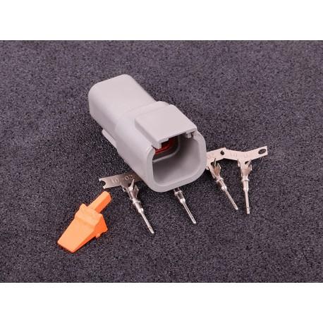 Kontaktdon 4-poligt stiftdon DTM series